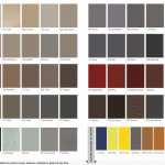 Standard Leather & Vinyl Colors